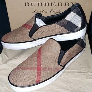 Burberry Check Slip on Sneaker